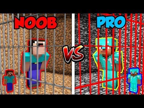 Minecraft NOOB vs. PRO: PRISON ESCAPE 3 in Minecraft!
