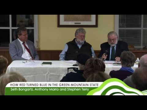 Green Mountain Academy Lectures - How Red Turned Blue in the Green Mountain State 10.11.12