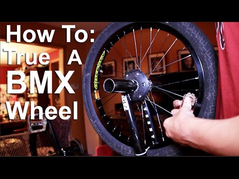 How To: True Your BMX Wheel