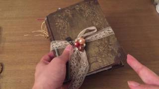 Victorian Lady's Handbook Junk Journal