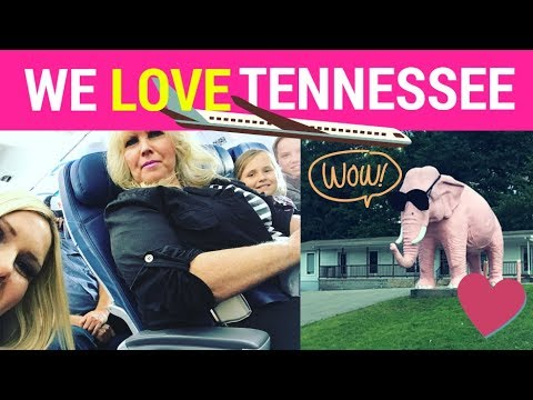 COOLEST PLACE EVER!! - OUR VISIT TO TENNESSEE (PART 1)