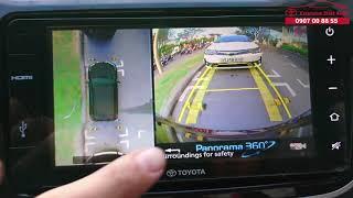 Camera 360 Độ Trên Ô Tô Hoạt Động Thế Nào? Giá bao nhiêu? Nên Trang Bị Không? Và Hướng Dẫn Sử Dụng.
