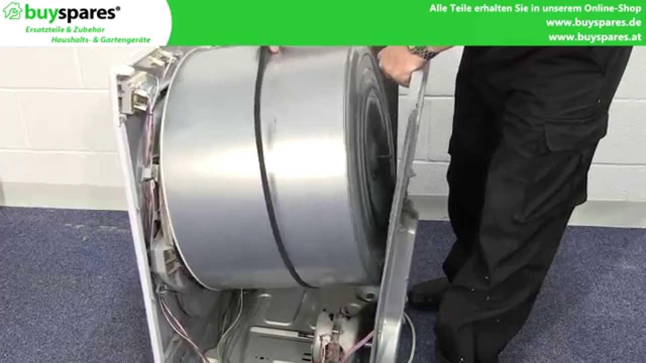 Bosch Kühlschrank Türanschlag Wechseln Anleitung : Anleitung wäschetrockner lager ersetzen youtube