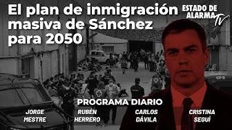 Image del Video: El plan de inmigración masiva de Sánchez para 2050