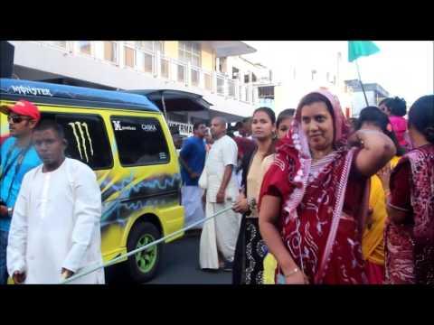 Day 2 Jagannath Rath Yatra   9th Hare Krishna Mahebourg Waterfront Festival  Sat 17 Dec 2016