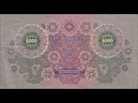 BANKNOTES AUSTRO HUNGARIAN EMPIRE 1922 ISSUE