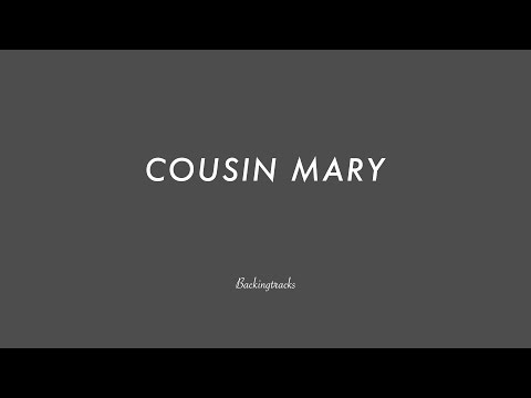COUSIN MARY chord progression (slow) (no piano) - Backing Track Play Along Jazz Standard Bible 2