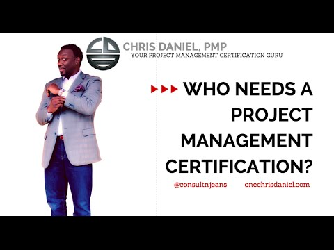 Who Needs Pmp Project Management Professional Certification