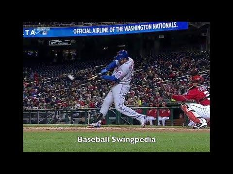 Adrian Gonzalez Home Run Swing Slow Motion 2018-1(#1)