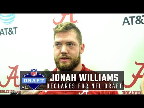 Jonah Williams declares for 2019 NFL Draft, says enrolling early helped him