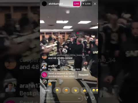 Sean Payton dances with teammates after a victory   NFL