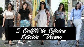 #MODA| 5 Outfits Cancheros de OFICINA | Edición Verano | OHMYTIPS