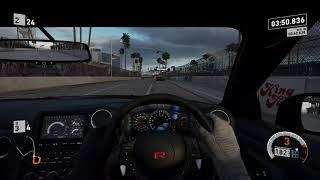 Forza Motorsport 7 GT Long Beach Nissan GT-R Onboard