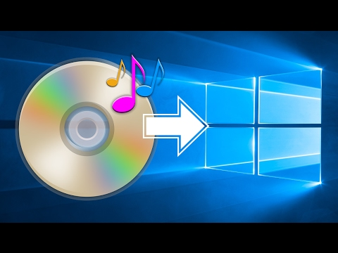How to Rip (Copy) Music from a Audio CD to a Computer in Windows 10 - Easy Way