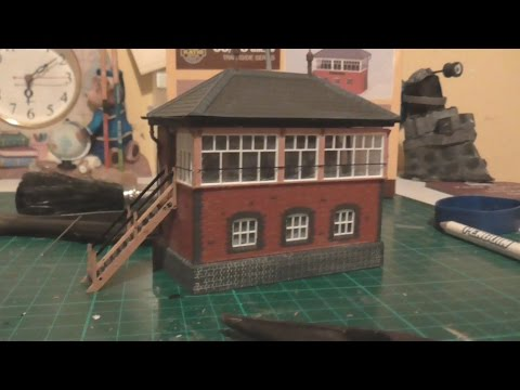 Building a Ratio GWR Signal Box for Glanmor