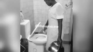 Crazy tanzanian house help(mboch) must watch!!
