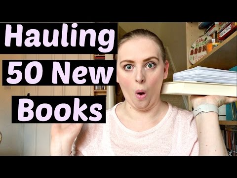 50 New Books - Probably My Most Insane Book Haul Yet! February Book Haul!