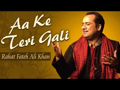 Aa Ke Teri Gali - Rahat Fateh Ali Khan | Best Qawwali Songs | Pakistani Songs | Musical Maestros