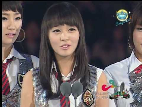 Wonder Girls win Best Rookie Award @ MKMF 2007 - 071117