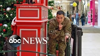 Servicemen Surprise Their Families by Coming Home for the Holidays