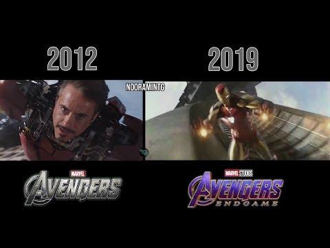 The Avengers (2012) & Avengers: Endgame (2019) | Mark 7 & Mark 85 Comparison