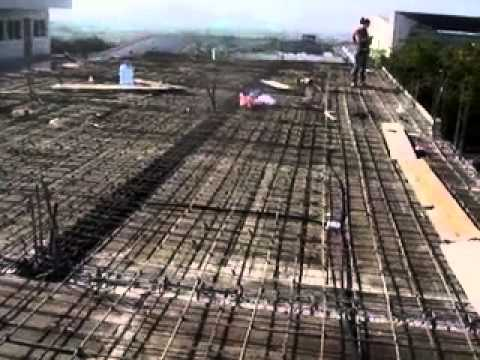 Armado con varilla para colado de losa de concreto 10 for Losa techo