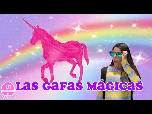 LAS GAFAS MÁGICAS!!! FANTASY GLASSES 🕶 VEO LO QUE QUIERO  🤩 LA DIVERSION DE MARTINA