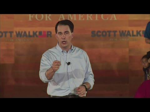 Scott Walker announces presidential plans in Waukesha