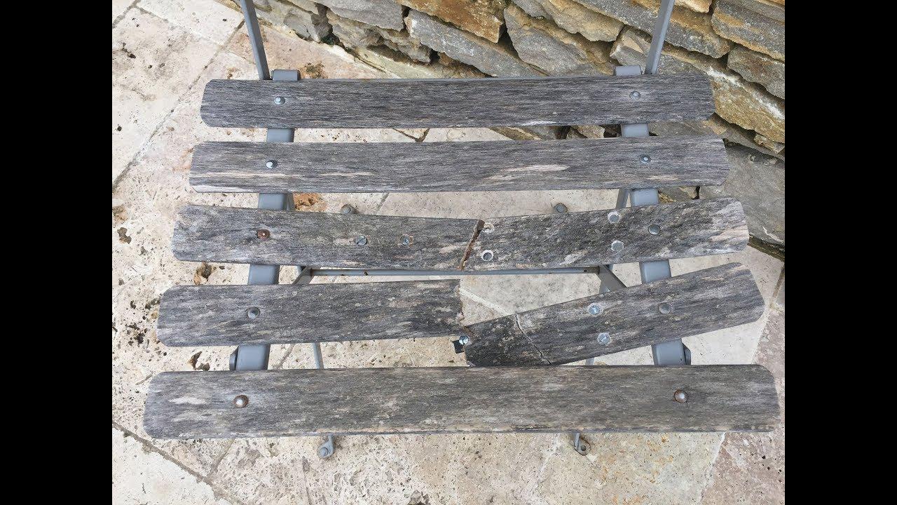 Comment Restaurer Une Chaise En Bois réparer une chaise pliante bistro