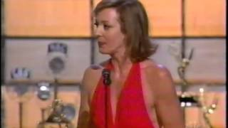 Allison Janney wins 2002 Emmy Award for Lead Actress in a Drama Series