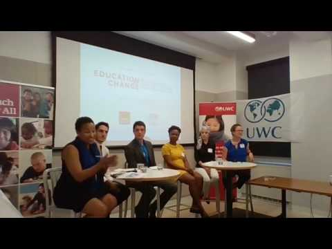 "Teach For All & UWC ""Education for Change"" event in NYC"