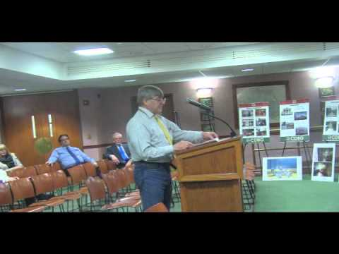 Bruce Paterson on Community Development Block Grants
