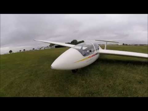 Gliding trial flights, Cambridge gliding club, Little Gransden, sept16