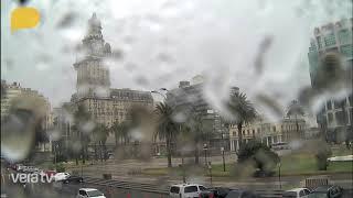 Timelapse tormenta en Plaza Independencia