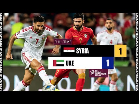 #AsianQualifiers - Full Match -  Group A | SYRIA  1 - 1 UNIT