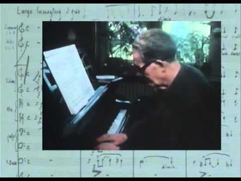 Le compositeur suisse Frank Martin est interviewé l'année de ses 80 ans (1970)
