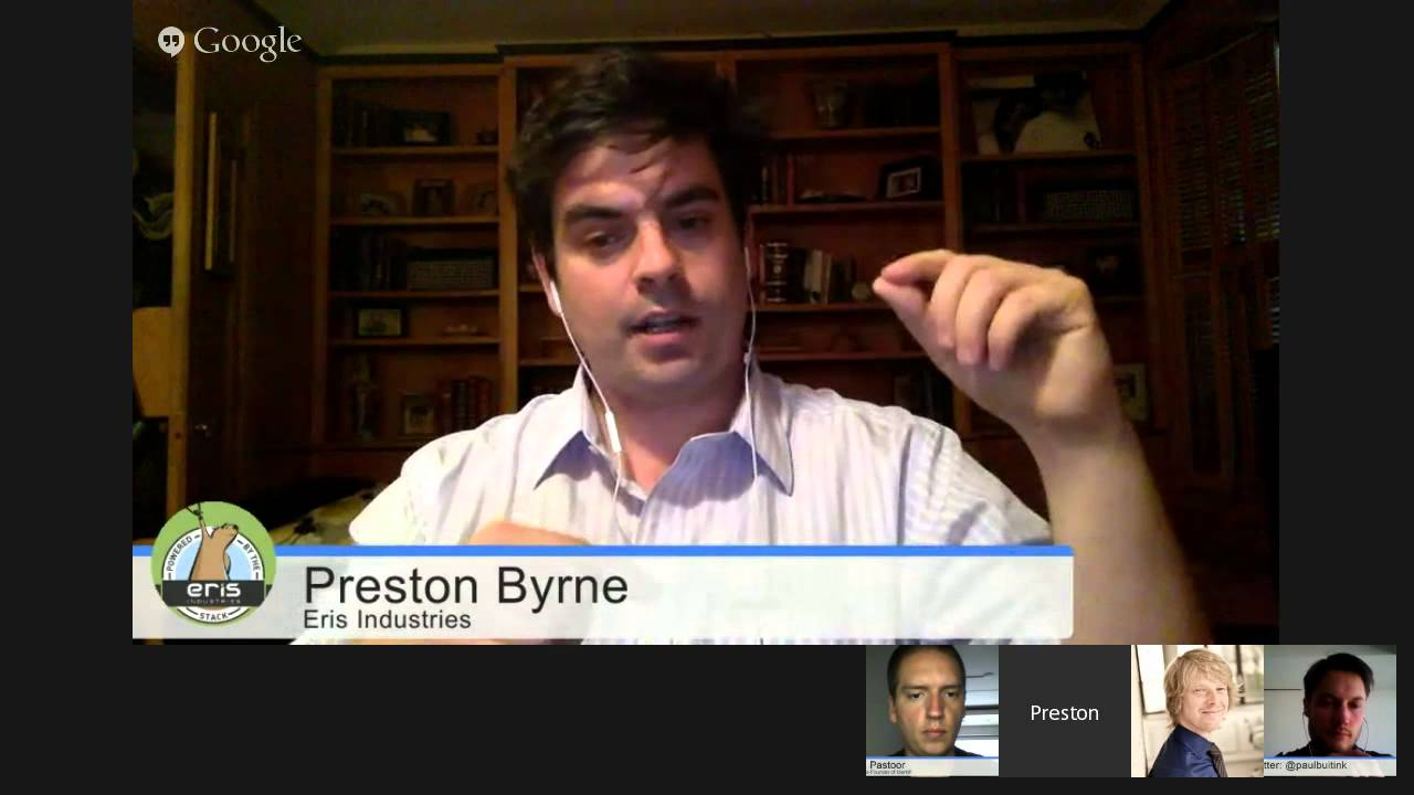 Preston Byrne of Eris wants people to build their own blockchain ...
