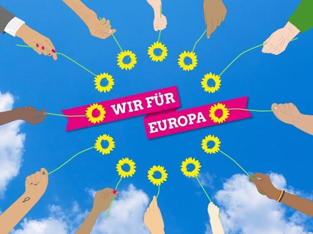 Grüne Europawochen: Wir sind europäisch