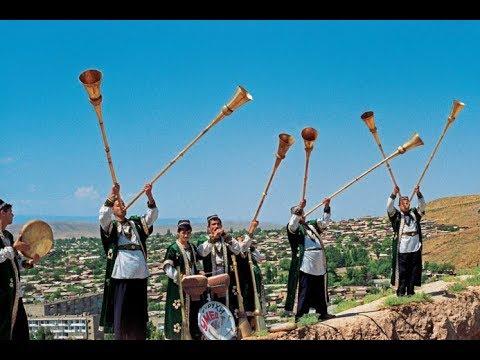 Таджикские обычаи и традиции на Свадьбе Карнай сурнай