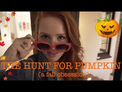 THE HUNT FOR EVERYTHING PUMPKIN IN LA (a fall obsession)  | Madelaine Petsch