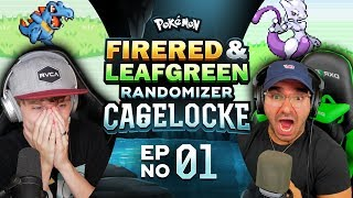 BEST START EVER! | Pokemon Fire Red and Leaf Green Randomized Cagelocke Ep 01