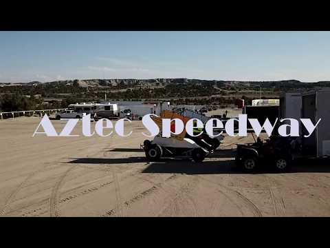 First attempt to film a winged sprint at Aztec speedway