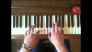 Fairytale of New York by The Pogues-- playing it on the piano