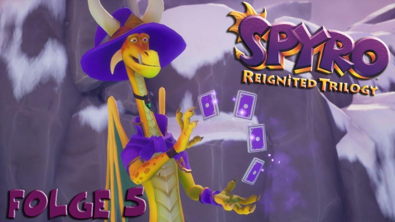 Spyro welt der magischen künstler