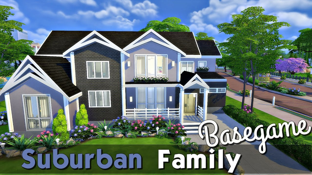 The Sims 4: Speed Build - Family Home (Base Game)