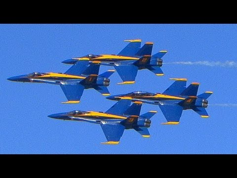 2013 U.S.N Blue Angels Travel Video