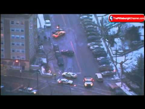 Icy Roads Send Cars Spinning In Squirrel Hill