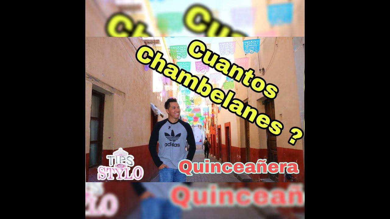 Cuantos Chambelanes | Tips con Stylo | Quinceañera | TUS 15