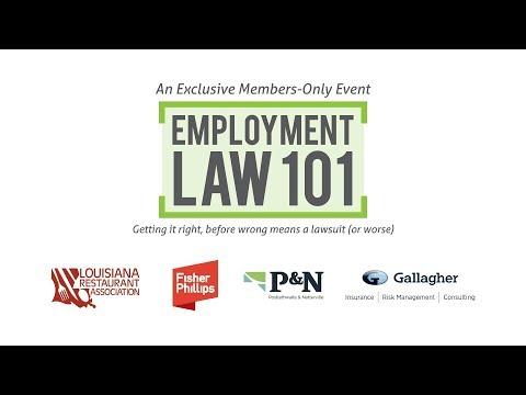 LRA Employment Law 101