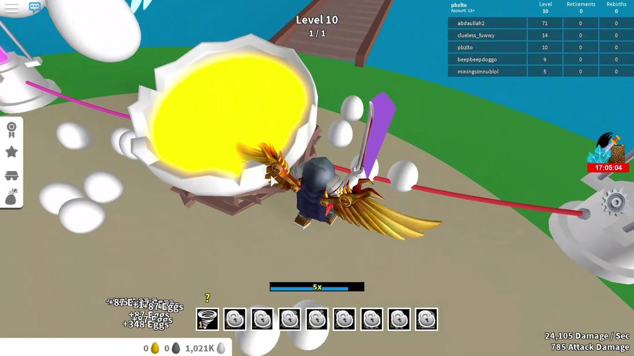 Youtube Roblox Egg Farm Simulator - Getting 1million Eggs In Egg Farming Simulator Roblox